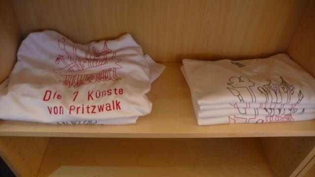 T-Shirts der Sieben Künste