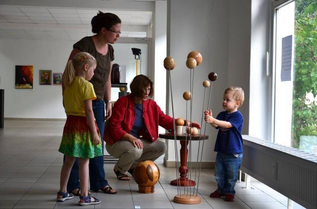 Ausstellung für Jung und Alt / Foto: Horst Kontak