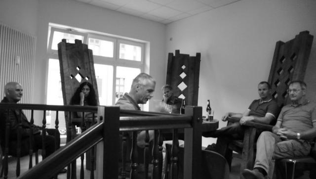 1. Tafelrunde mit Andreas Dorfstecher, René Bartl und Horst Kontak
