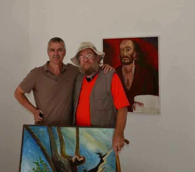 Horst Kontak zusammen mit Götz Schallenberg