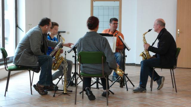 Wittstocker Saxophonquartett mit Gast