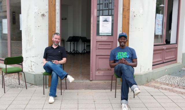 Gerrit Gohlke und Ono Ngcala