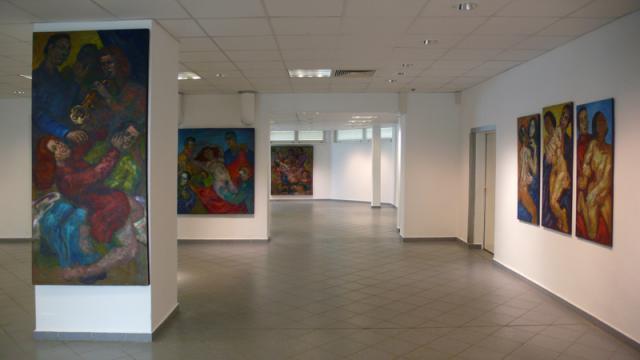 Blick in die Ausstellung.