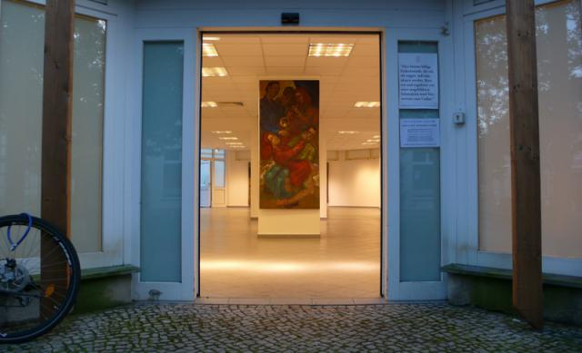 Eingang zu 383 qm Kultur.