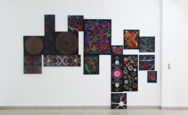 Christian Maahs, Schwarzlicht-Arbeiten