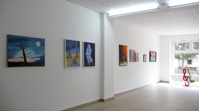 """Ausstellungsansicht """"Pritzwalk zeigt sich"""""""