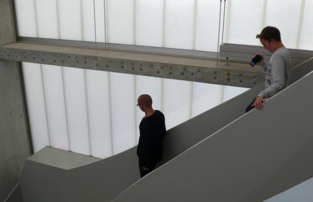 Richard Spitzner filmt den Berliner Galeristen Alexander Koch