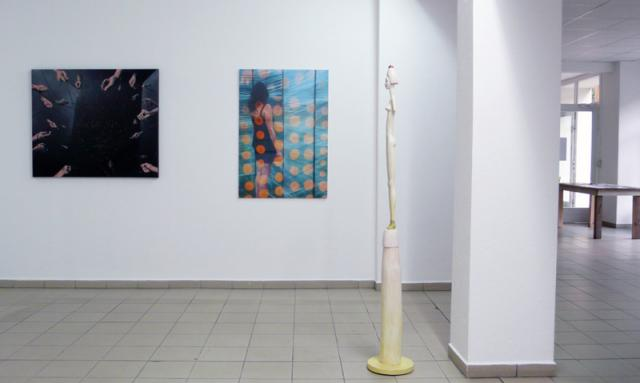 Werke von Detlef Glöde, Chady Seubert und Klaus Siegmund
