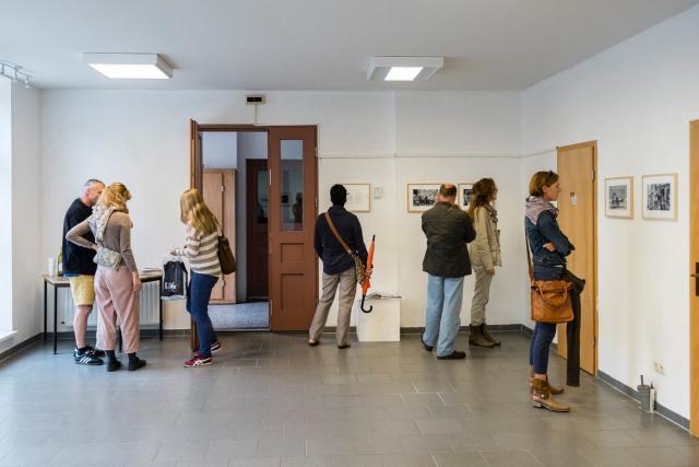 Ausstellungseröffnung (Foto: Jens Wegner)