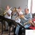 Big Band Probe im Musikladen / Foto: Hartmut Winkelmann