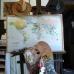 Im Atelier von Götz Schallenberg